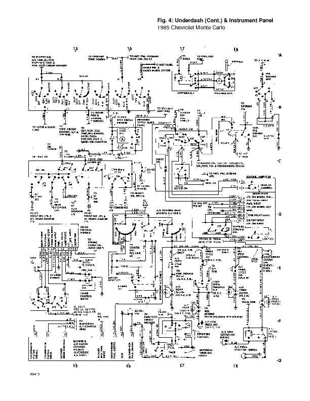 monte_85_wiring page 22 1995 chevrolet monte carlo complete wiring diagrams complete 1981 Chevy Engine Wiring Diagram at mifinder.co
